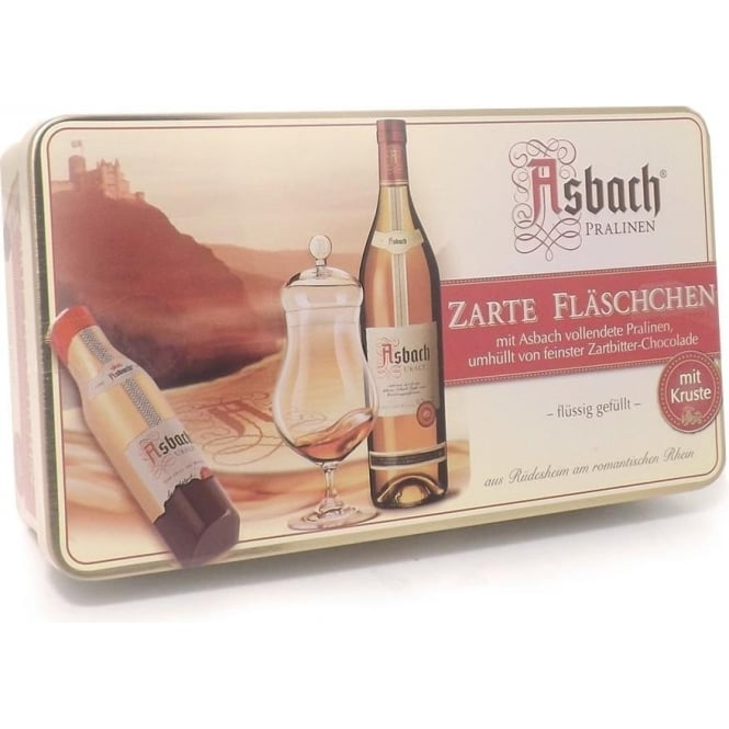 Asbach Brandy Liqueur Chocolate Tin - 200g