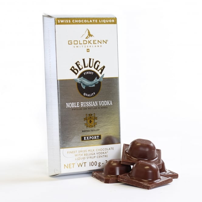 Beluga Vodka Liqueur Chocolate Bar