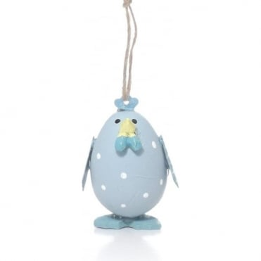 Blue Chick Easter Decoration