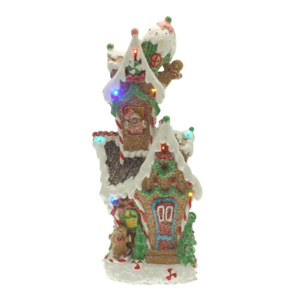 Buy candy gingerbread house decoration for Christmas home decorations uk