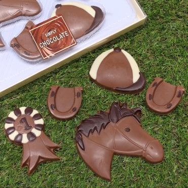 Chocolate Horse Riding Gift Set