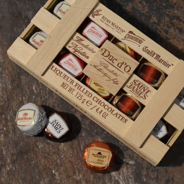 Chocolate Liqueurs Crate - 125g