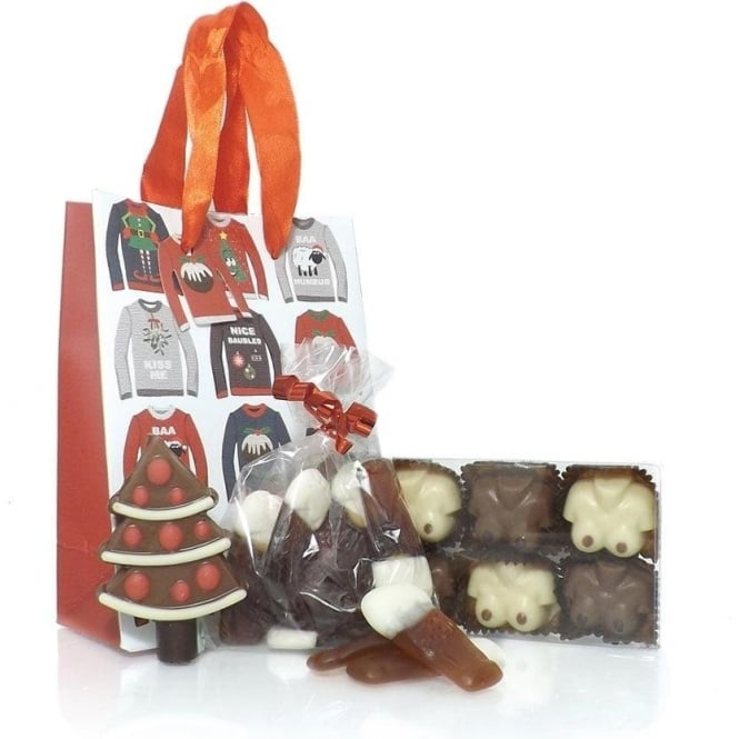 Christmas Jumper Gift Bag