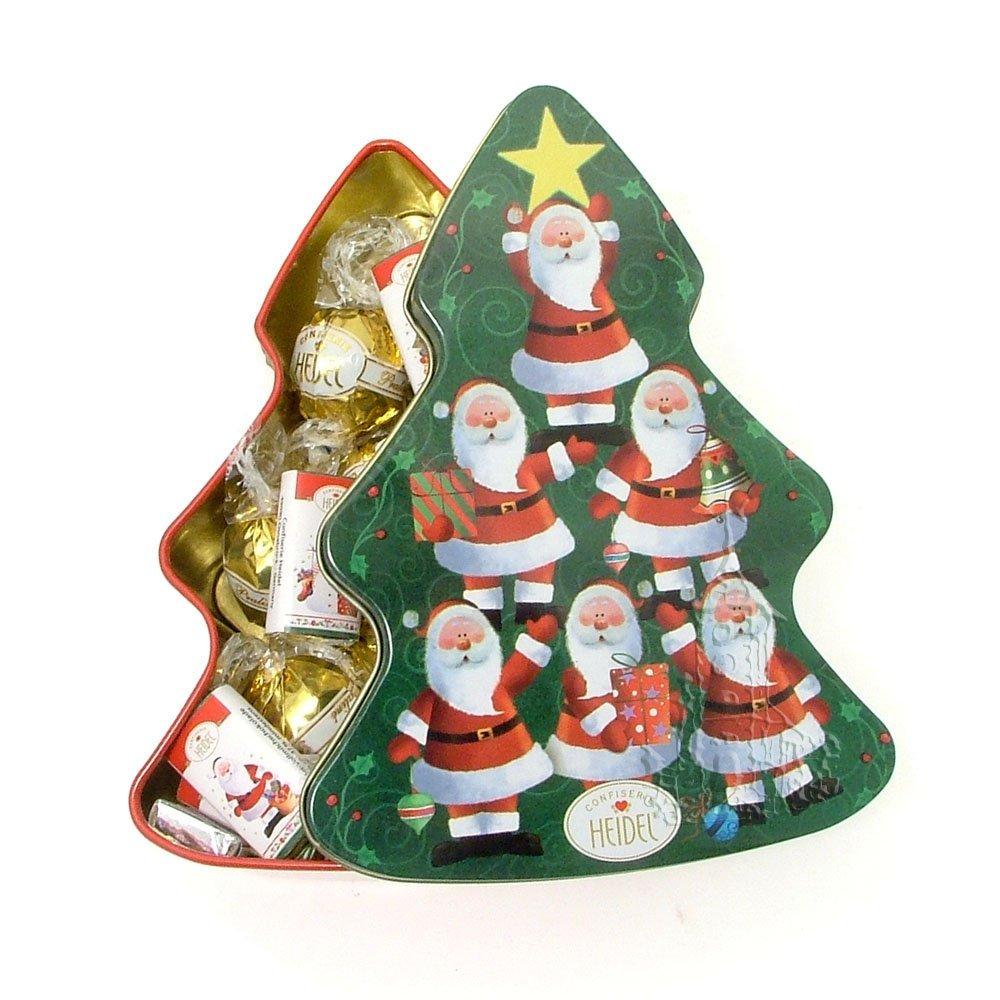 Awesome Christmas Tree Chocolates Part - 6: Christmas Tree Chocolate Tin