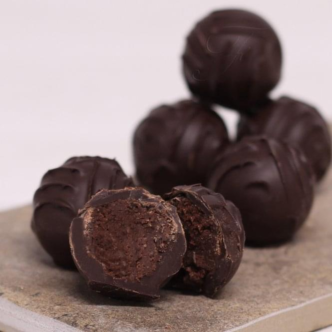 Dark Chocolate 72% Cocoa Truffles