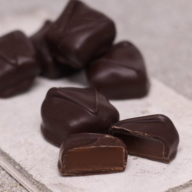 Dark Chocolate Caramels
