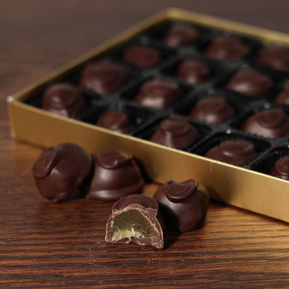 Dark Chocolate Ginger - 24 Chocolates