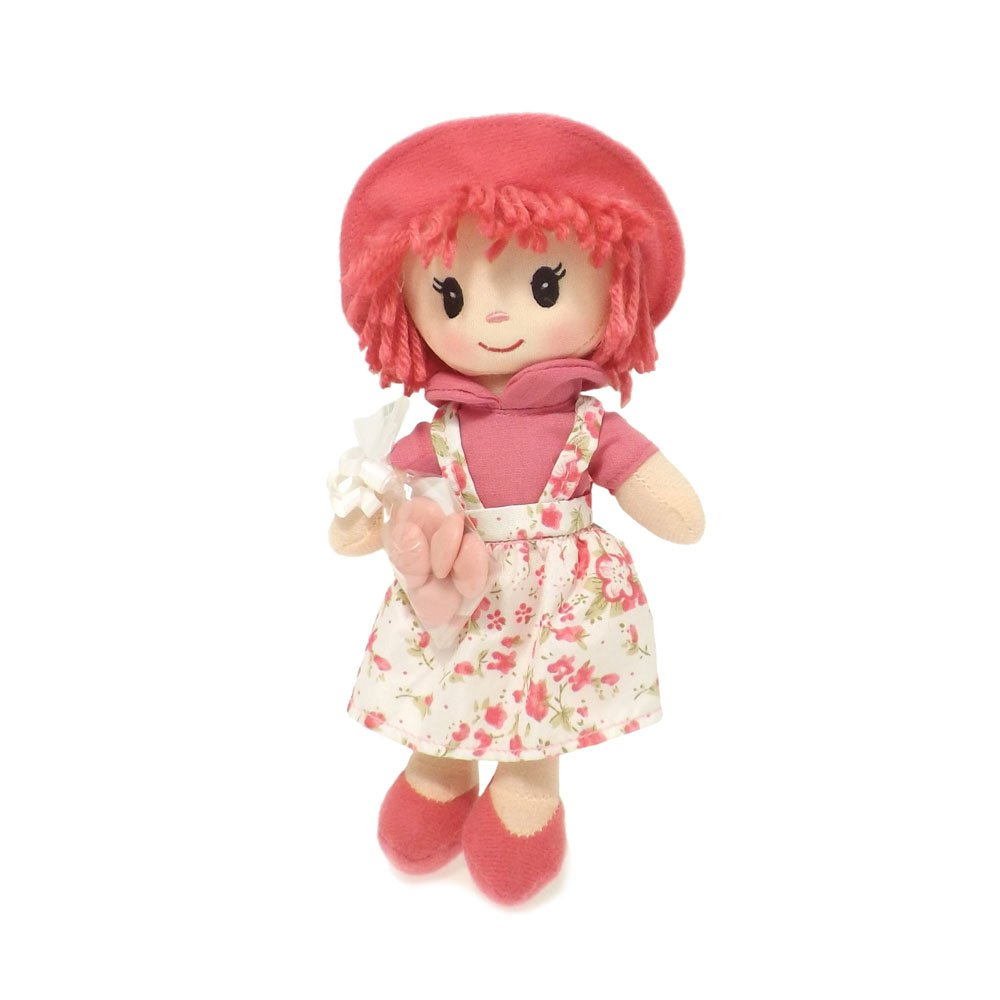 Dark Pink Rag Doll