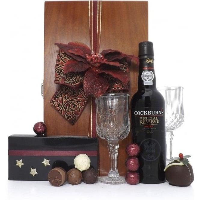 Deluxe Cockburn's Port Christmas Gift Set