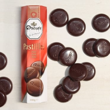 Droste Dark Chocolate Pastilles