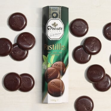 Droste Dark Mint Chocolate Pastilles