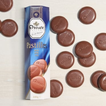 Droste Milk Chocolate Pastilles