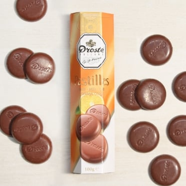 Droste Orange Chocolate Pastilles