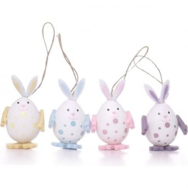 Easter Bunny Decorations - 8 Pack