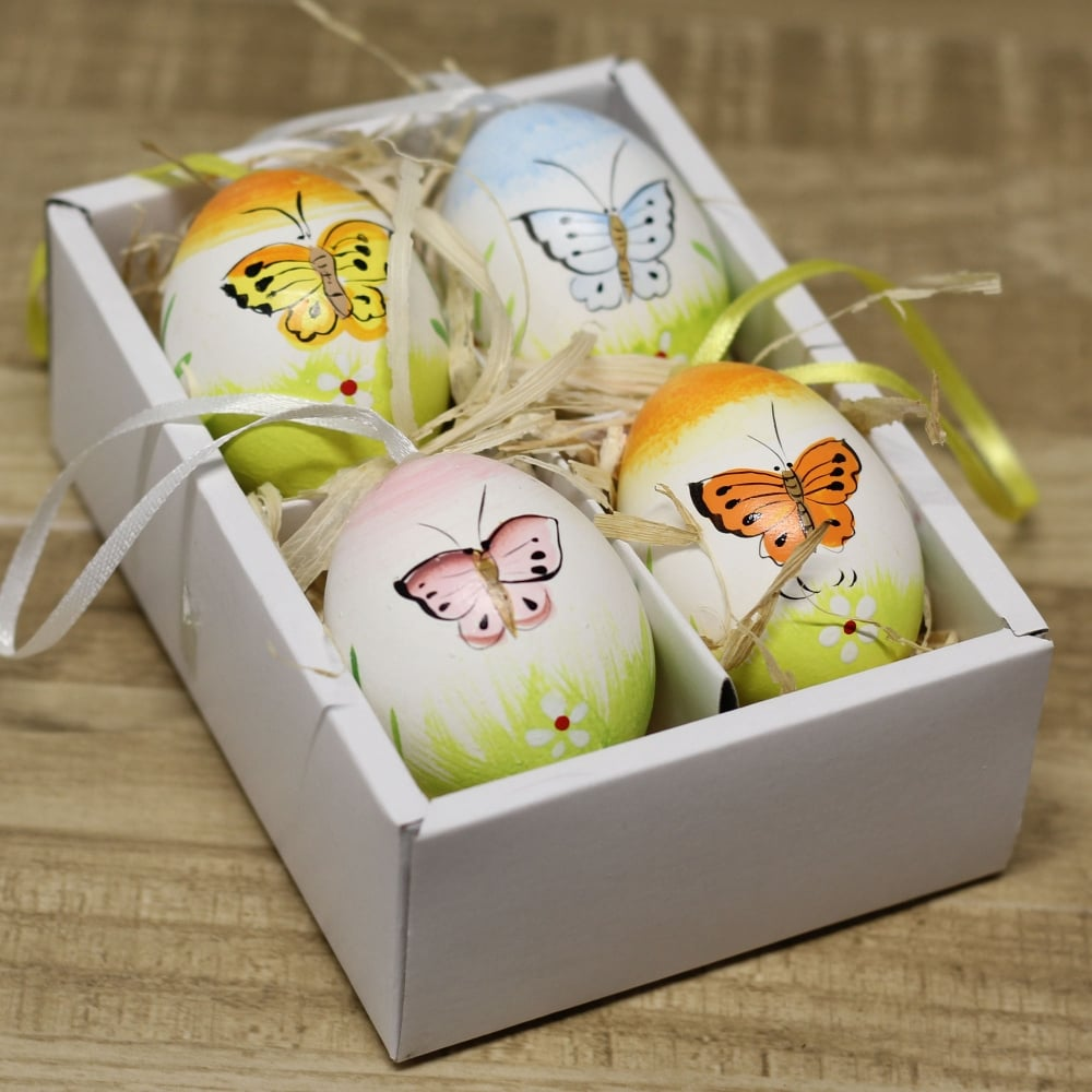 Buy Easter Egg Decorations Butterflies