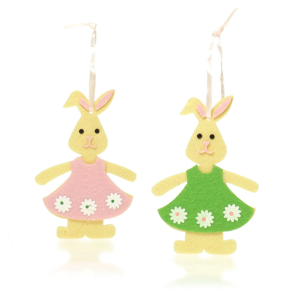 Buy felt bunny decorations for Rabbit decorations home