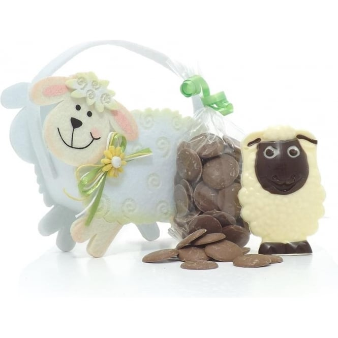 Felt Lamb Gift Bag