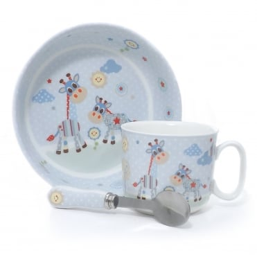 Baby Breakfast Set - Blue