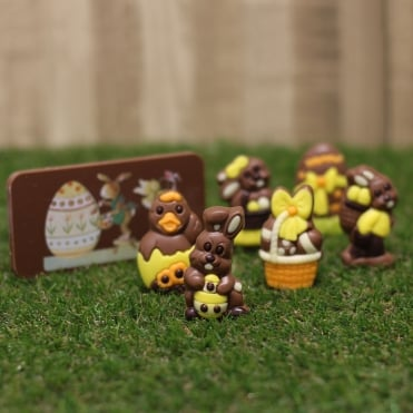 Chocolate Easter Bar & Figures