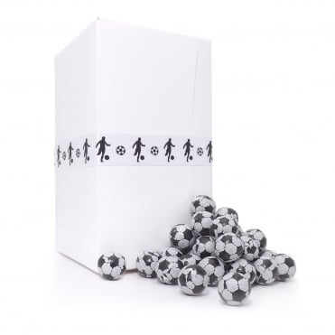 Chocolate Footballs Gift Box