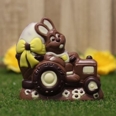 Chocolate Tractor Bunny