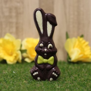 Gluten free friars easter gifts dark chocolate bow tie bunny negle
