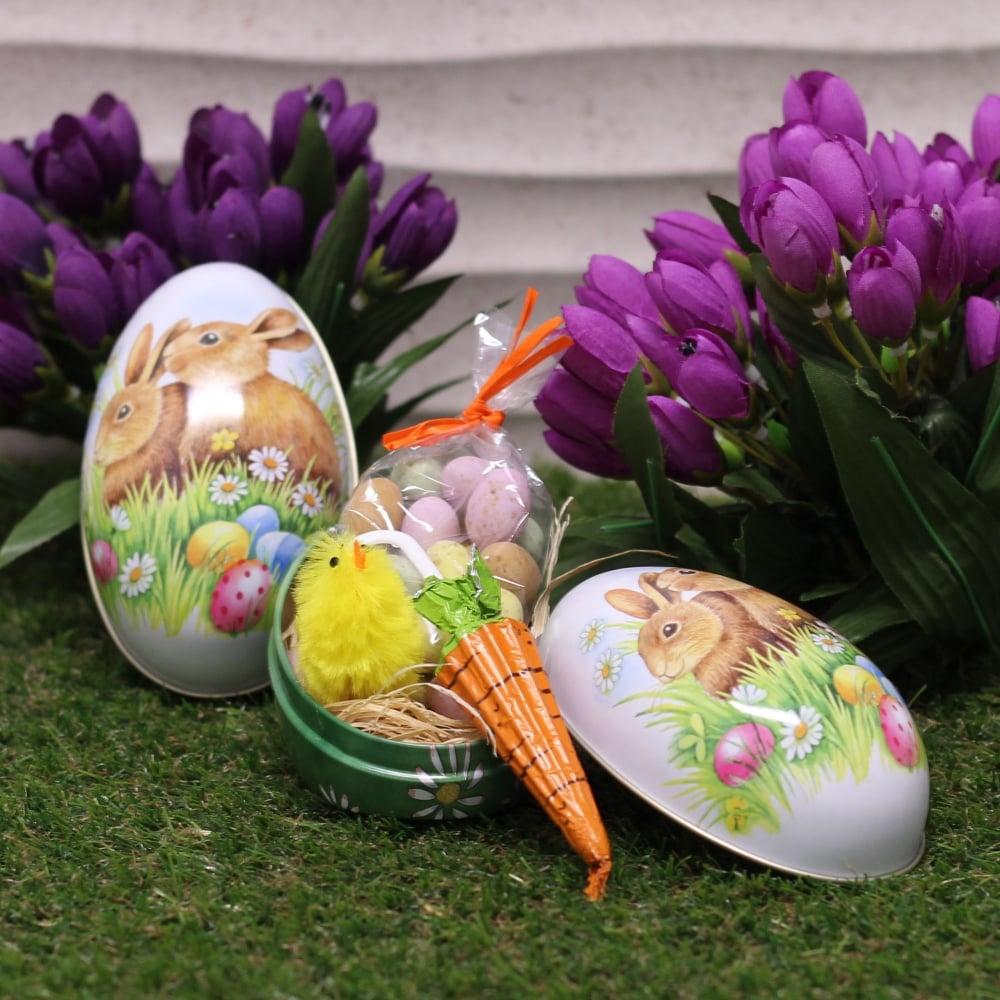 Buy easter egg gift tin easter egg gift tin negle Image collections