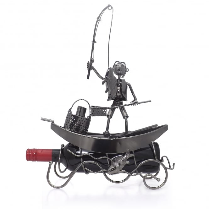 Friars Fishing Boat Wine Bottle Holder