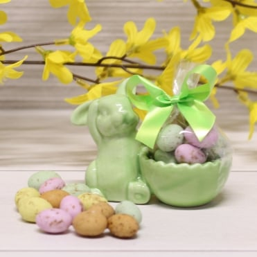 Green Bunny Egg Cup