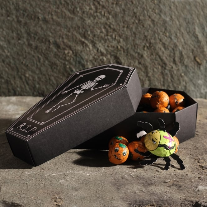 Friars Halloween Coffin Chocolate Box