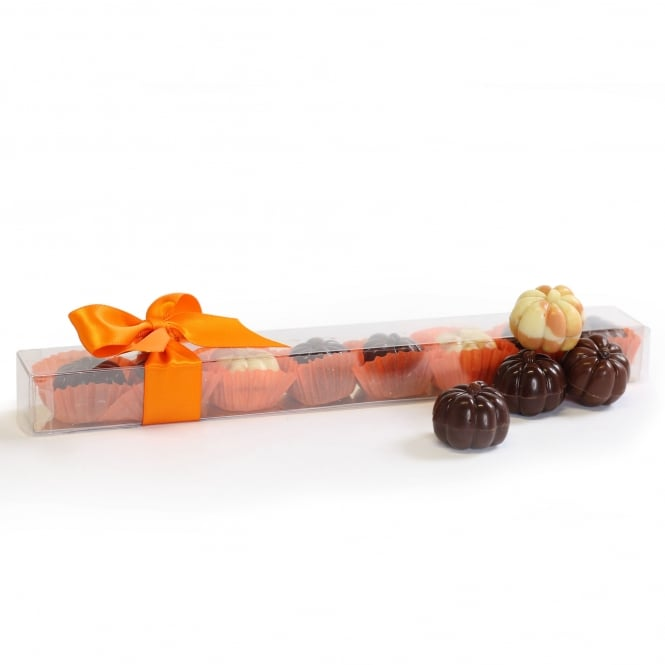 Friars Halloween Pumpkin Chocolate Pralines - 8 Chocolates
