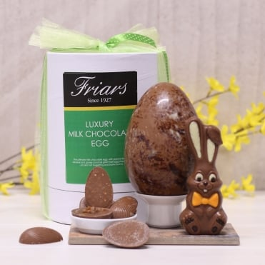 Luxury Milk Chocolate Easter Egg