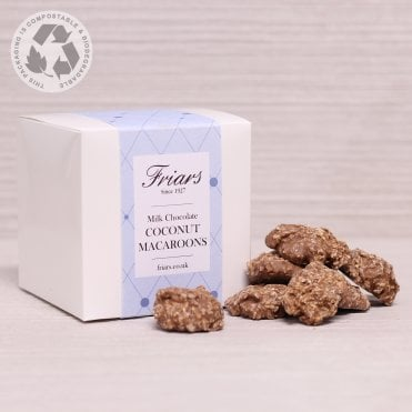 Milk Chocolate Coconut Macaroons Gift Box