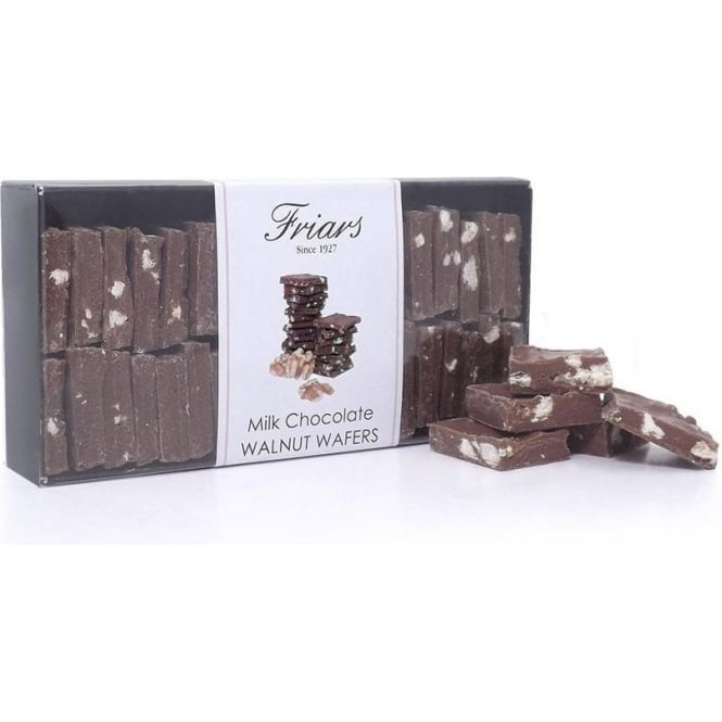 Friars Milk Chocolate Walnut Bites