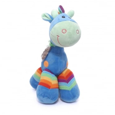 Soft Toy Giraffe - Blue