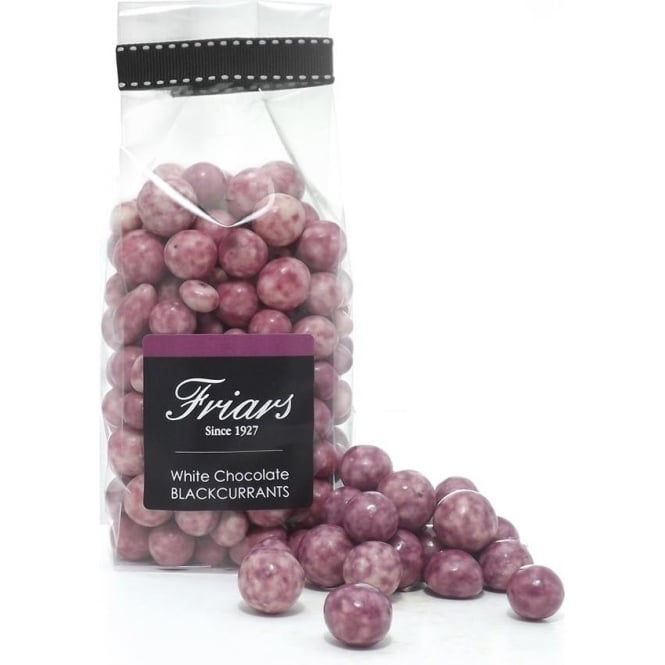 Friars White Chocolate Coated Blackcurrants