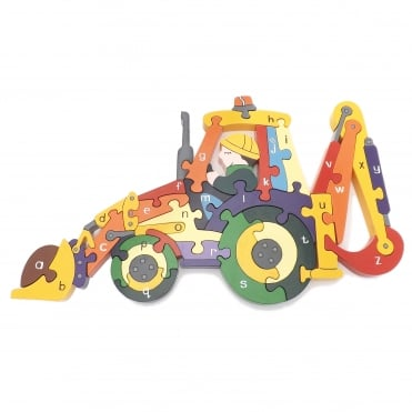 Wooden Digger Puzzle