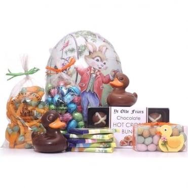 Giant Cardboard Easter Egg