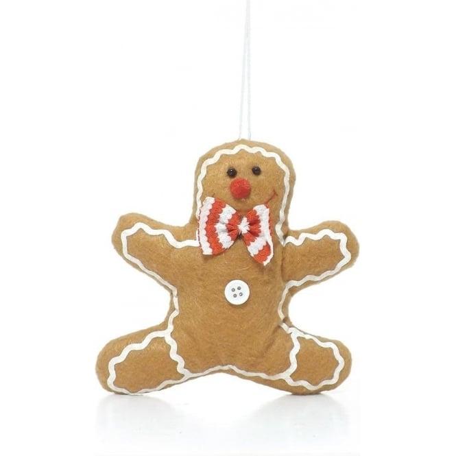 Gingerbread Man Tree Decoration