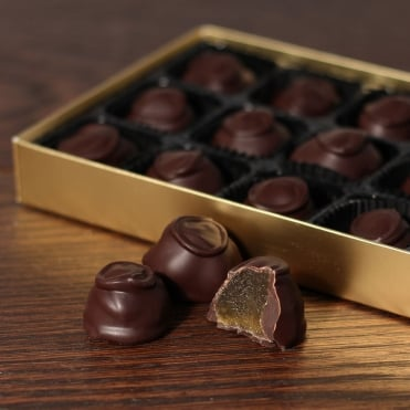 Hand Made Dark Chocolate Covered Ginger - 15 Chocolates