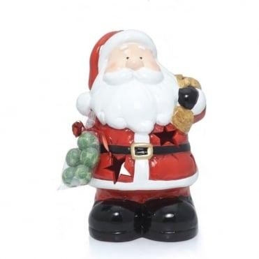 Jolly Santa T-light Holder