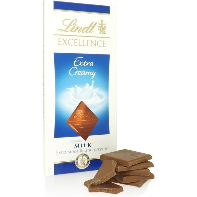 Lindt Excellence Extra Creamy Chocolate Bar