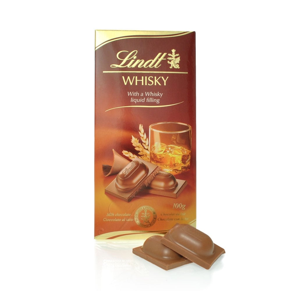 Buy Lindt Whisky Liqueur Filled Chocolate Bar