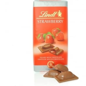 Lindt Strawberry Chocolate Bar