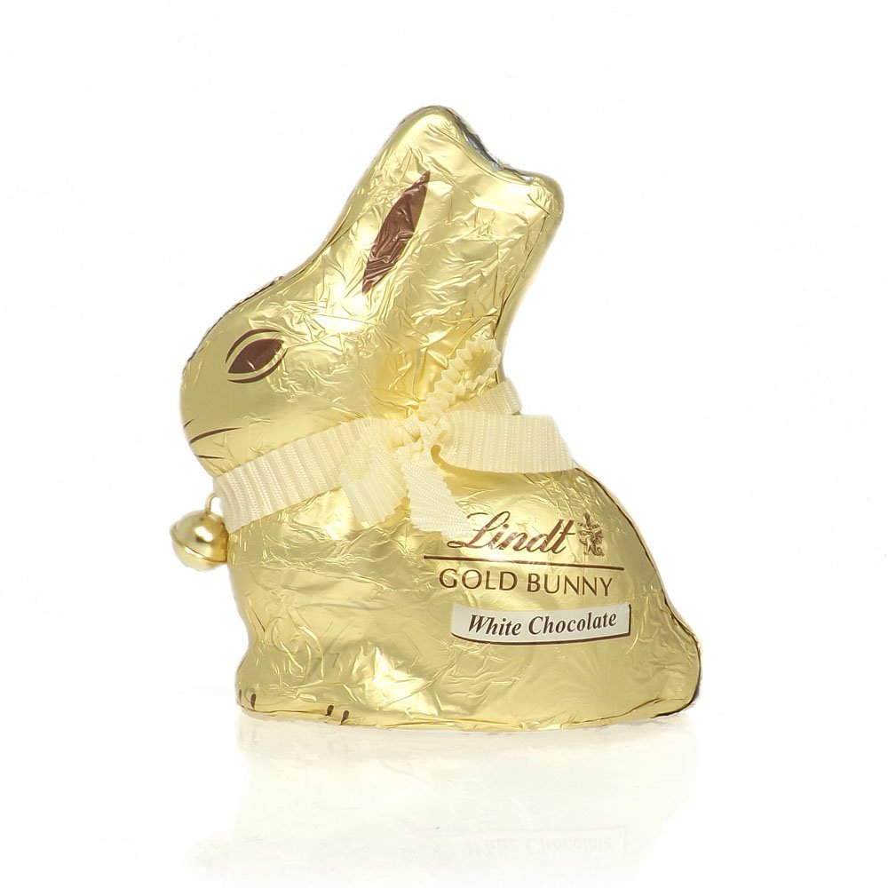 Lindt White Chocolate Gold Bunny