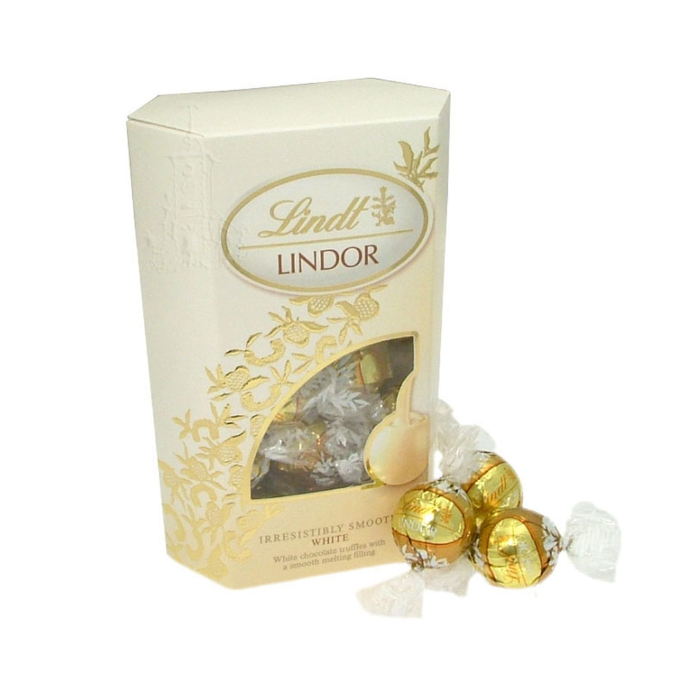 Lindor White Chocolate Truffle Ingredients