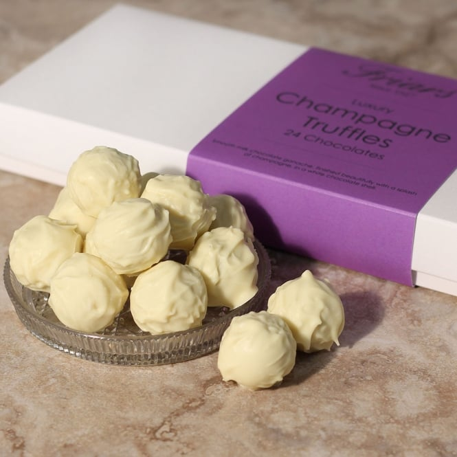 Luxury Champagne Truffles - 24 Chocolates