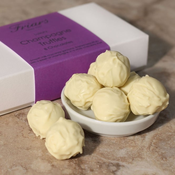 Luxury Champagne Truffles - 8 Chocolates