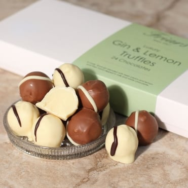 Luxury Gin Truffles - 24 Chocolates