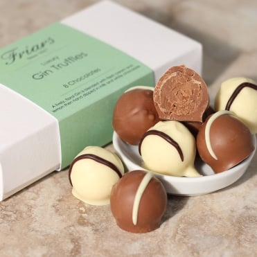 Luxury Gin Truffles - 8 Chocolates